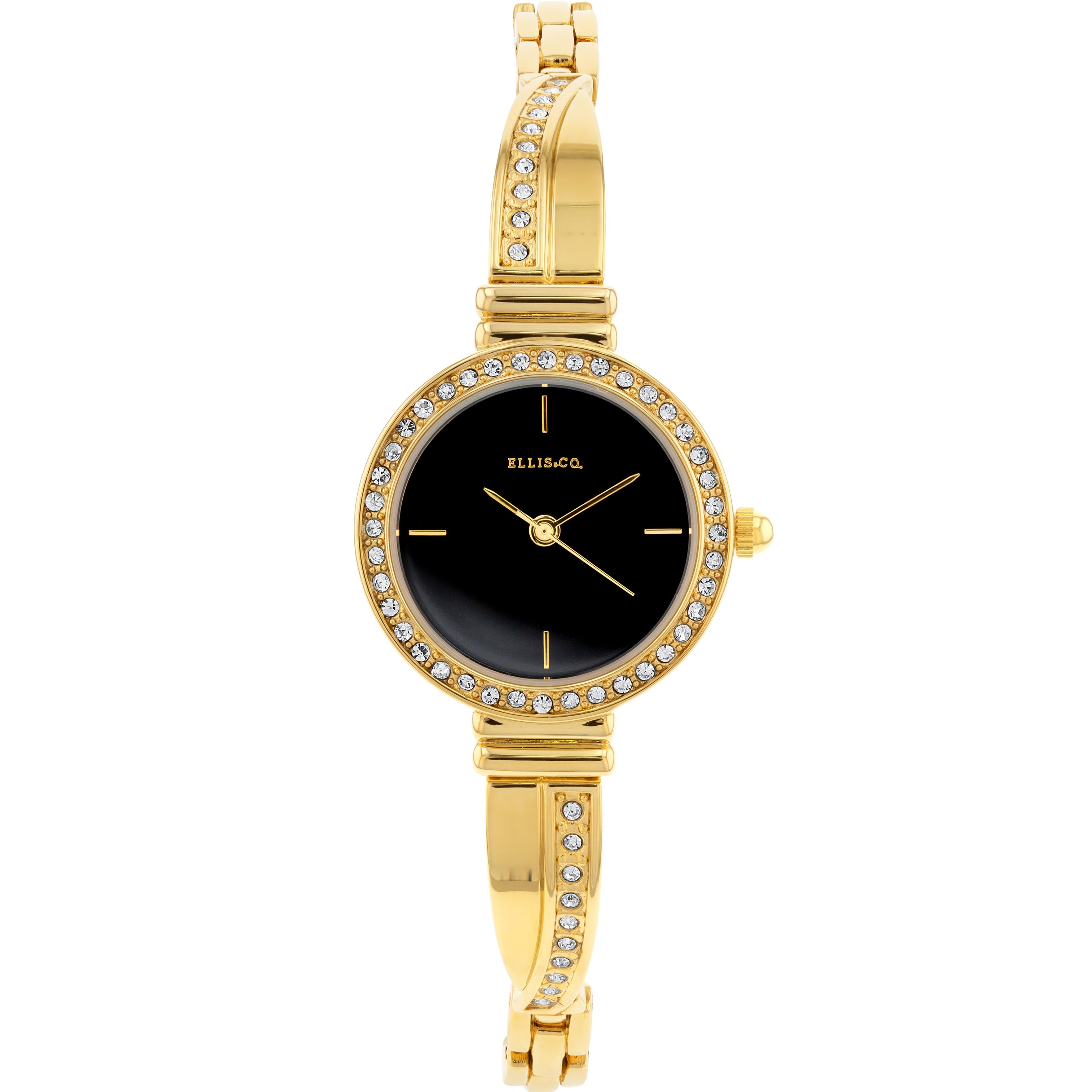 Ellis & Co ' Erika' Gold Plated Women's Watch