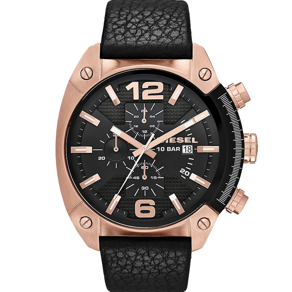 Diesel Overflow DZ4297 Chronograph Black Mens Watch