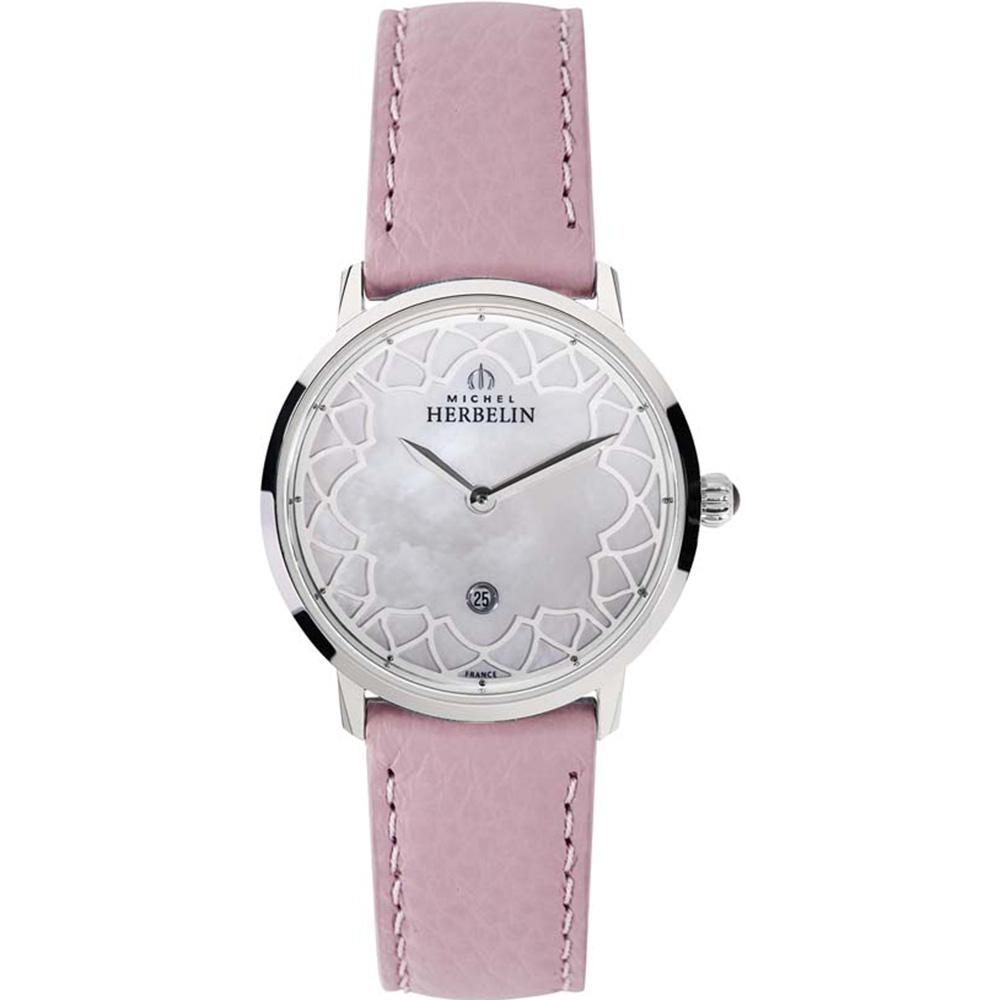 Michel Herbelin Citadines 16915/69R0 Pink Womans Dress Watch