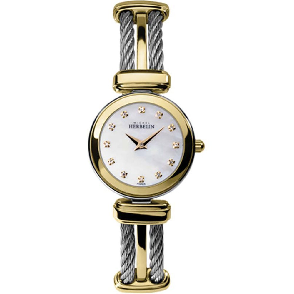 Michel Herbelin Cables 17420/BT59 Womens Two Tone Watch