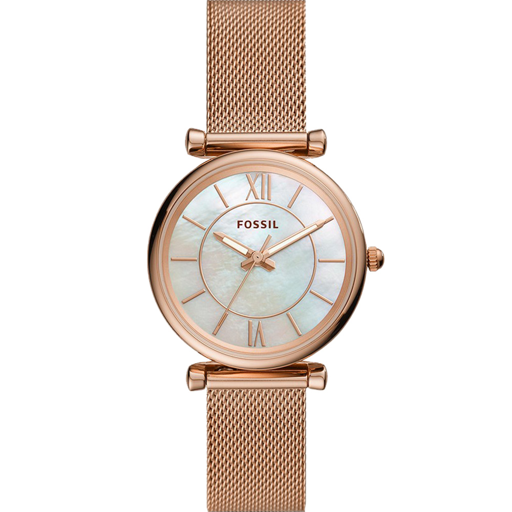 Fossil Carlie ES4918  Rose Gold Womans Watch