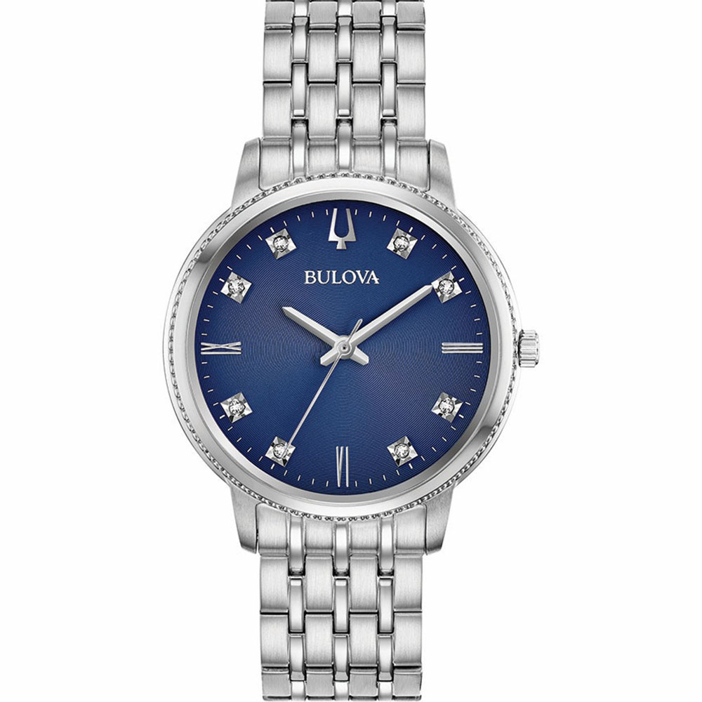 Bulova 96P206 Diamond Quartz Womens Watch