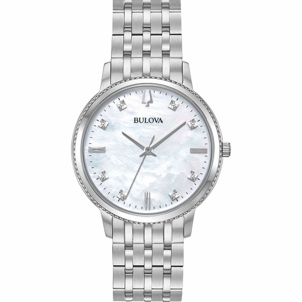 Bulova 96P207 Diamond Quartz Womens Watch