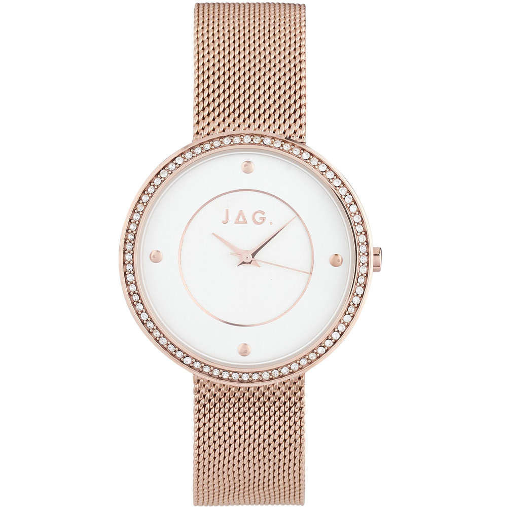 Jag Antoinette J2356A IPRG Rose Gold Womans Watch