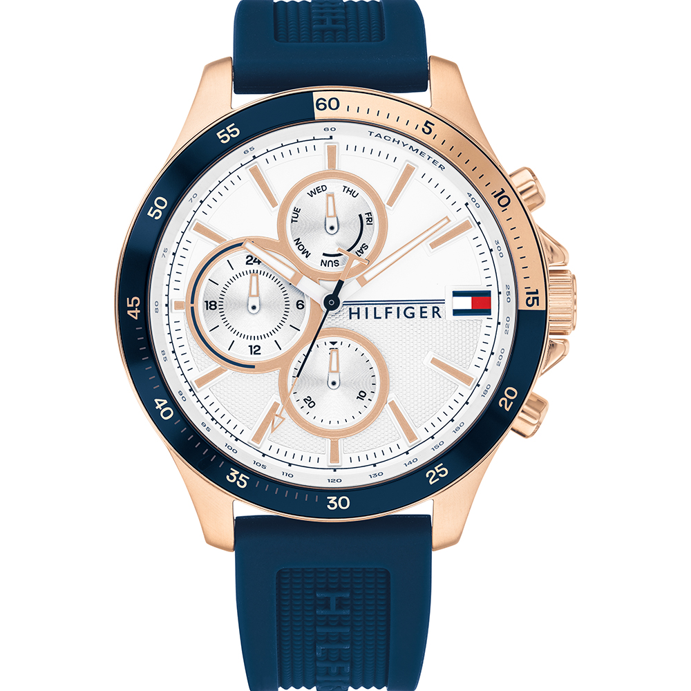 Tommy Hilfiger Bank Collection 1791778 Mens Watch