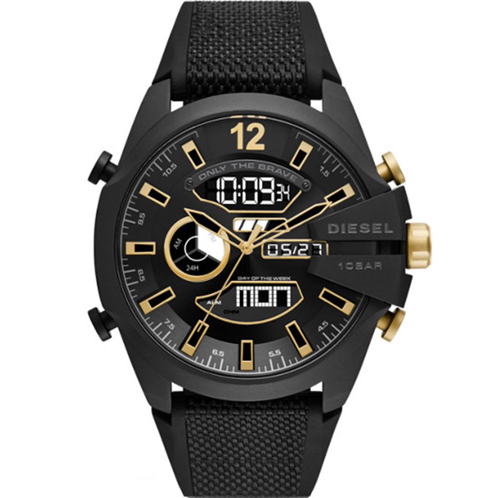 Diesel Mega Chief DZ4552 Chronograph Digital Mens Watch