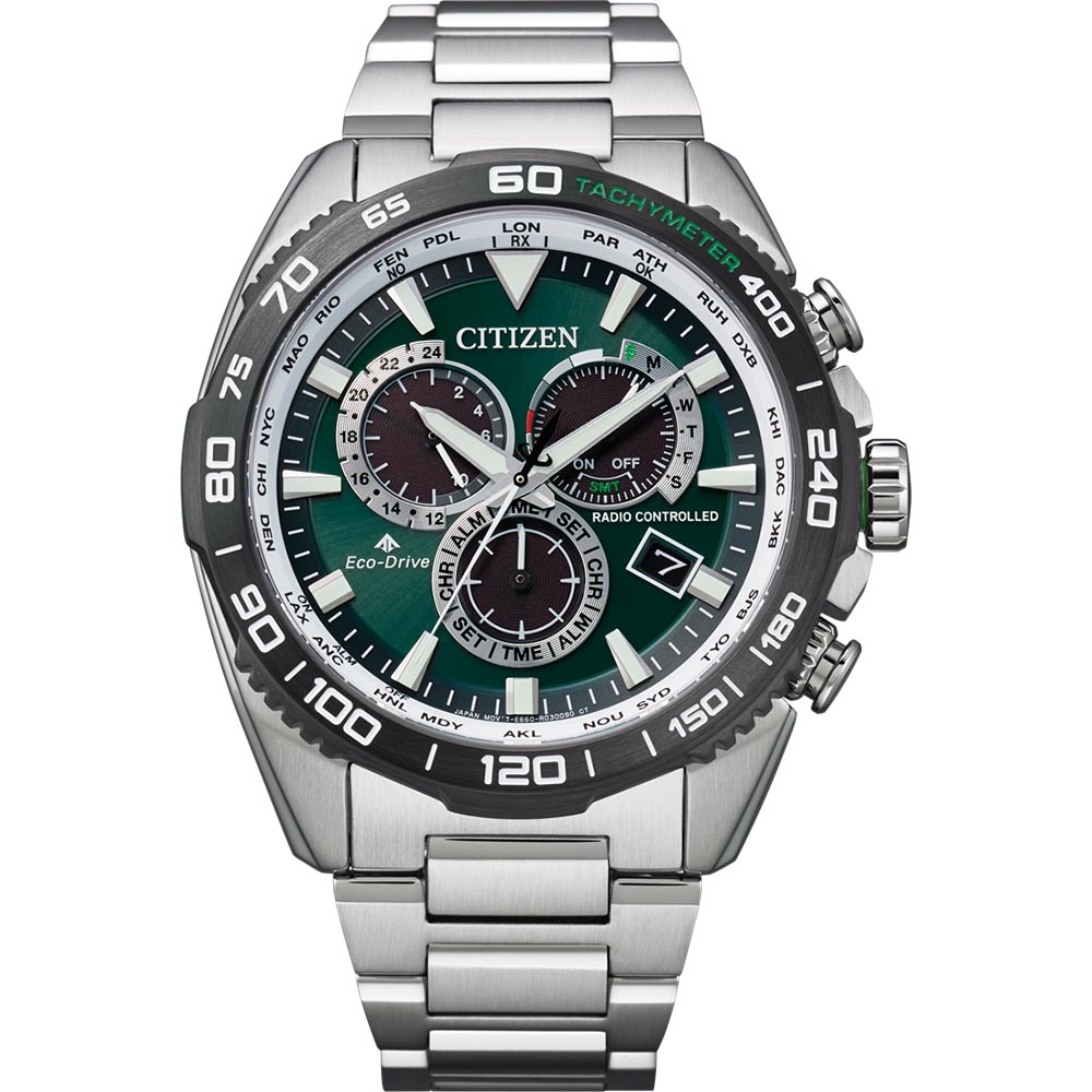 Citizen CB5034-91W Promaster Stainless Steel Mens Watch