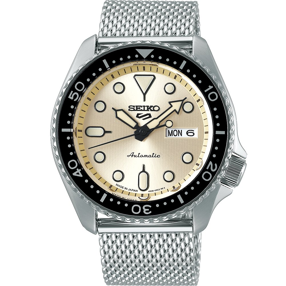 Seiko 5 SRPE75K Automatic Stainless Steel Mens Watch