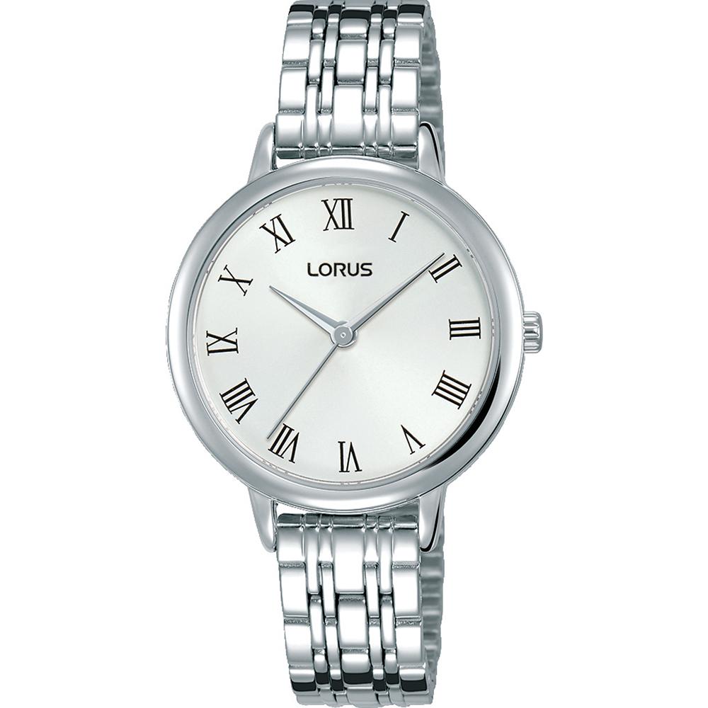 Lorus RG201QX-9 Silver Tone Womens Watch