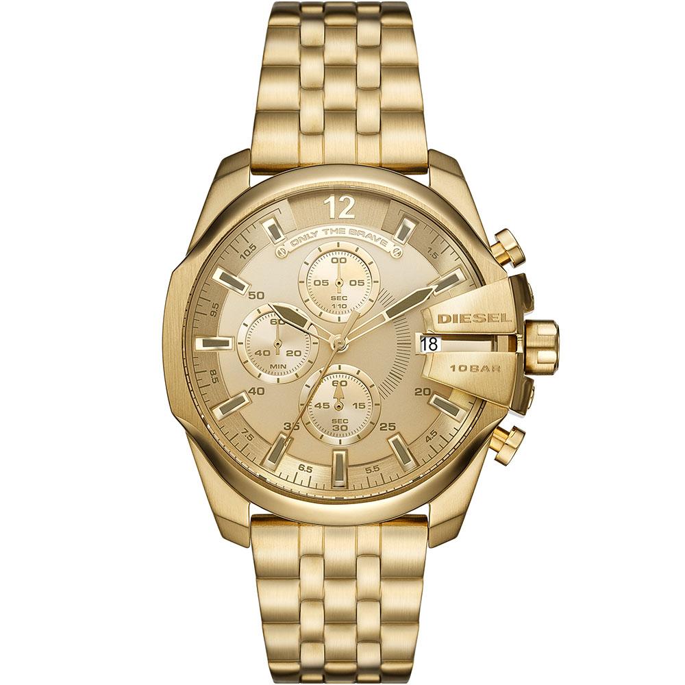Diesel DZ4565 Chronograph Gold Tone Mens Watch