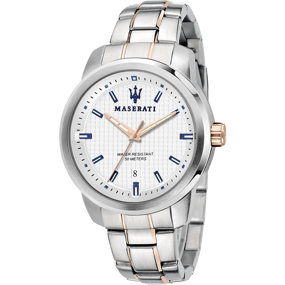Maserati R885121005 Successo Two Tone Stainless Steel Mens Watch
