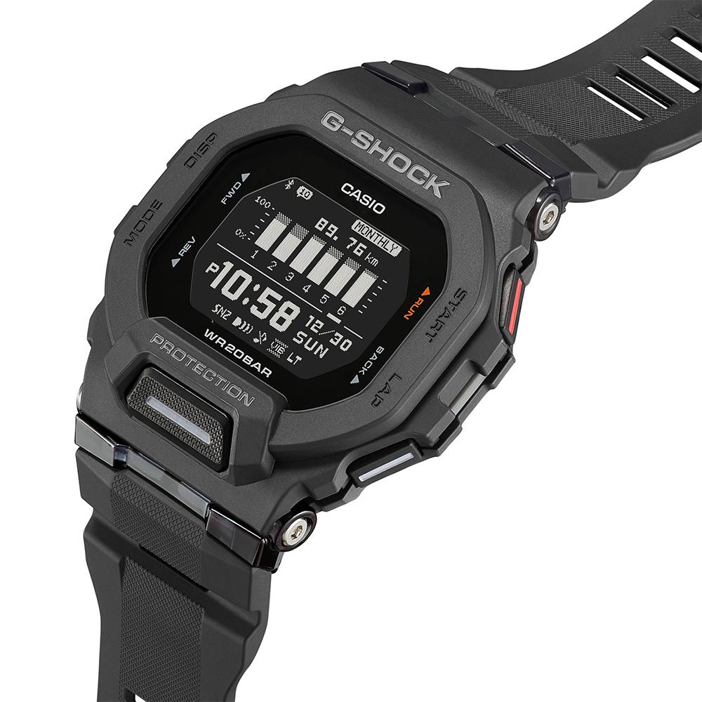 G-Shock GBD200-1 G-Squad Black Digital Watch
