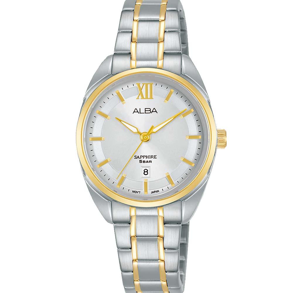 Alba AH7Y52X1 Two Tone Watch
