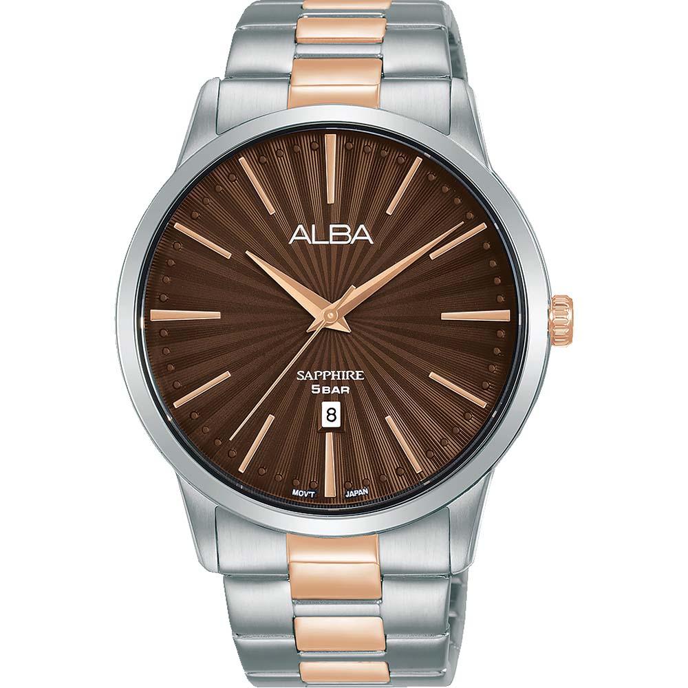 Alba AG8L13X1 Two Tone Mens Watch