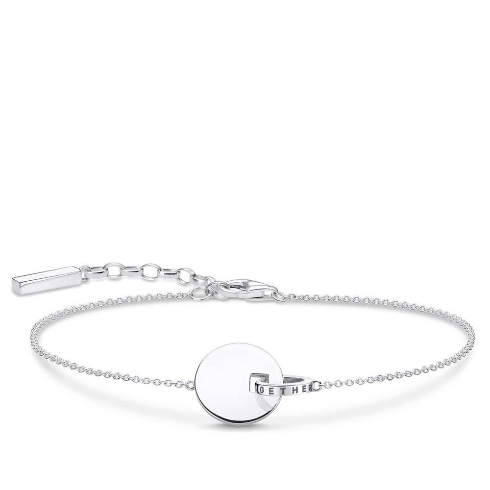 Sterling Silver Thomas Sabo Together Forever Bracelet