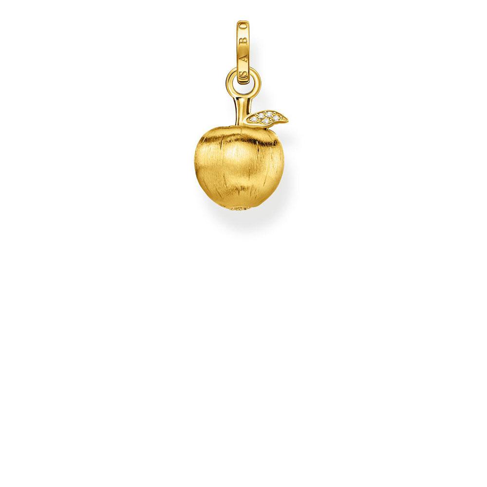 Gold Plated Sterling Silver Thomas Sabo Magic Garden Apple Pendant