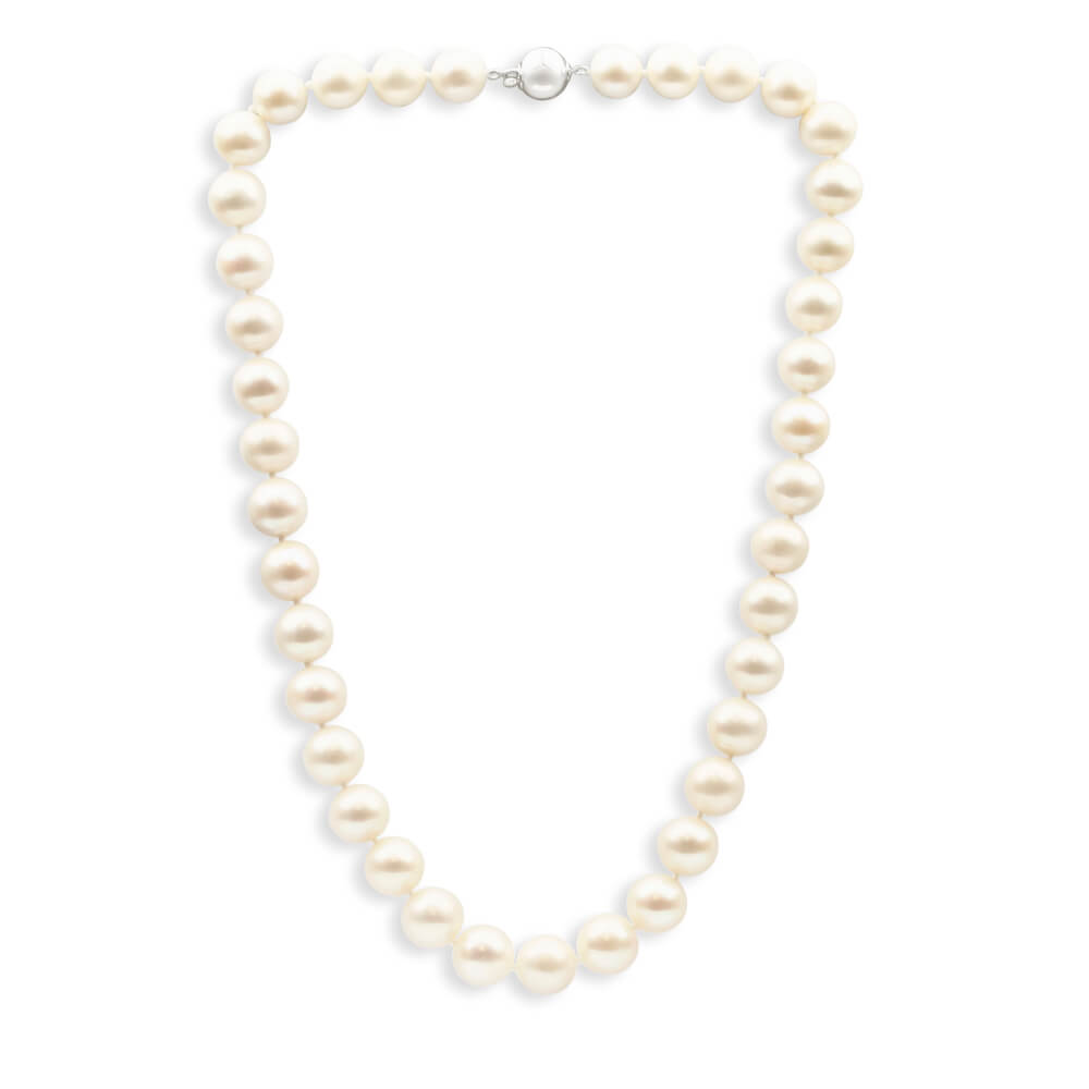 Cream Freshwater 45cm Pearl Necklace