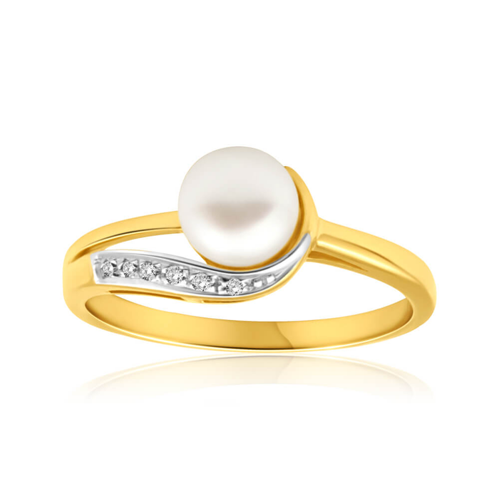 winterpearl rings winter pearl catbird ring