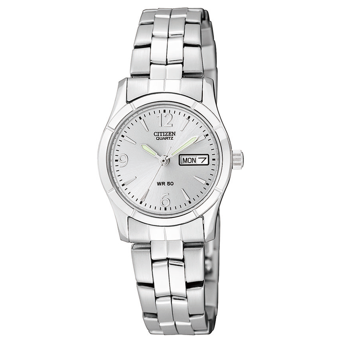 Citizen EQ0540-57A Womens Silver Tone Watch (30250375) - Watches ... 1ef1c8cc9c