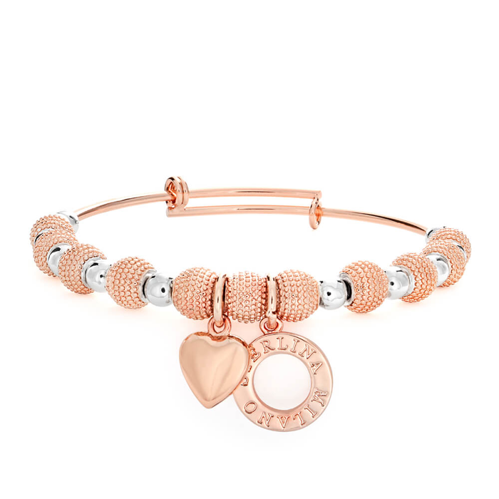 charm benefiting shiny alex and peacelove yourself finish rose foundation gold bangle ani be bangles