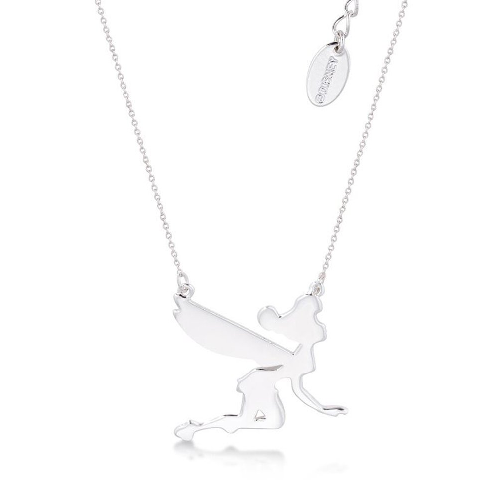 DISNEY Tinkerbell Silhouette Pendant on Chain