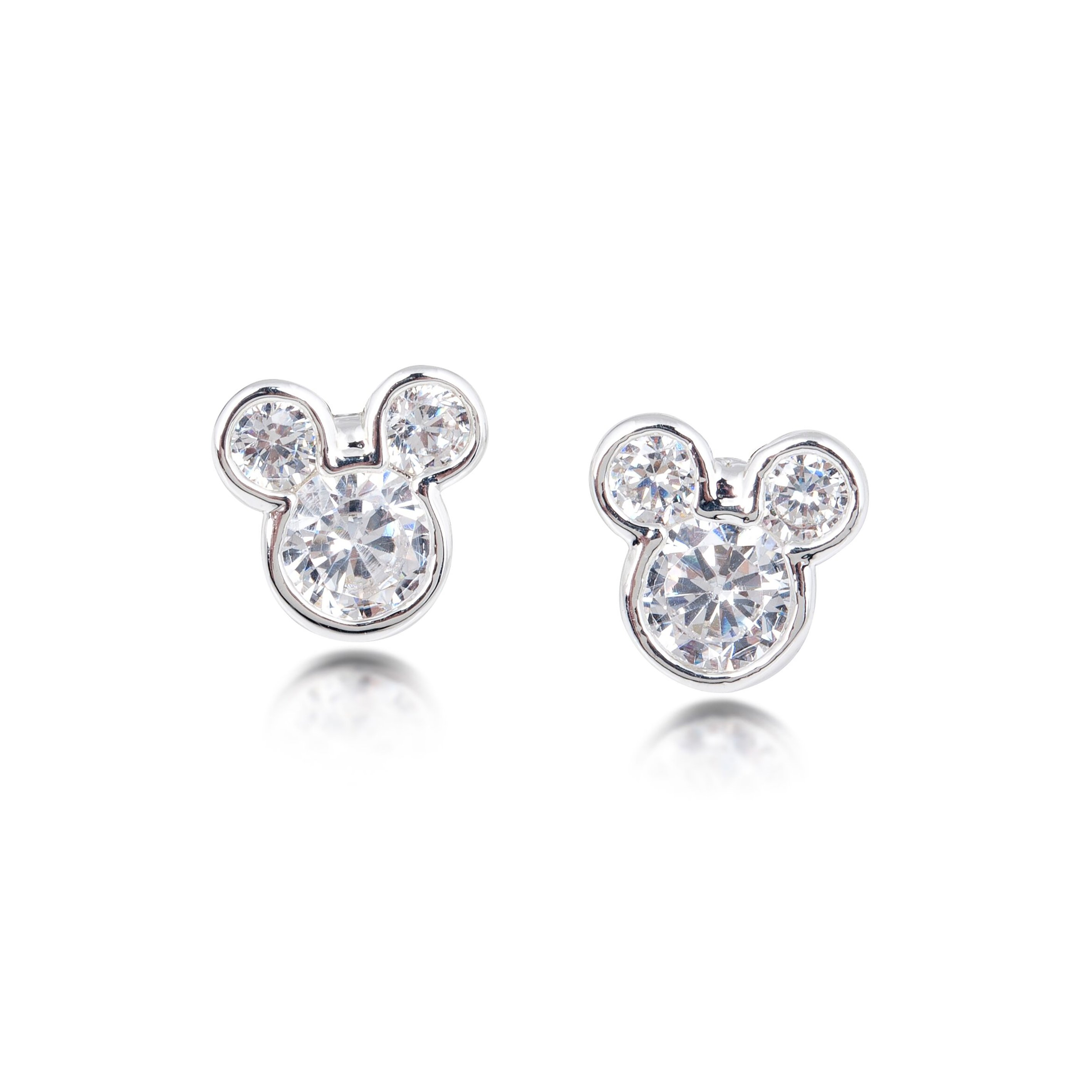 DISNEY Mickey Mouse Crystal Stud Earrings