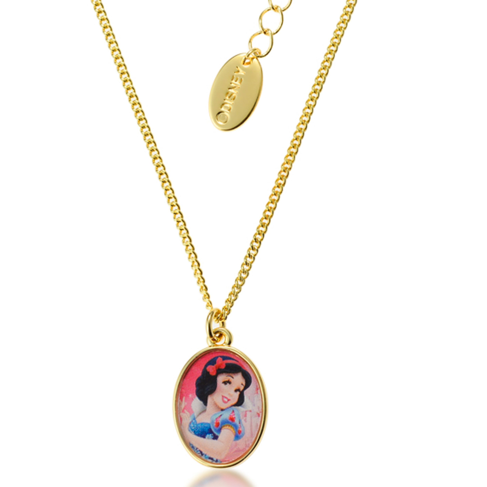 DISNEY Snow White Medallion Pendant