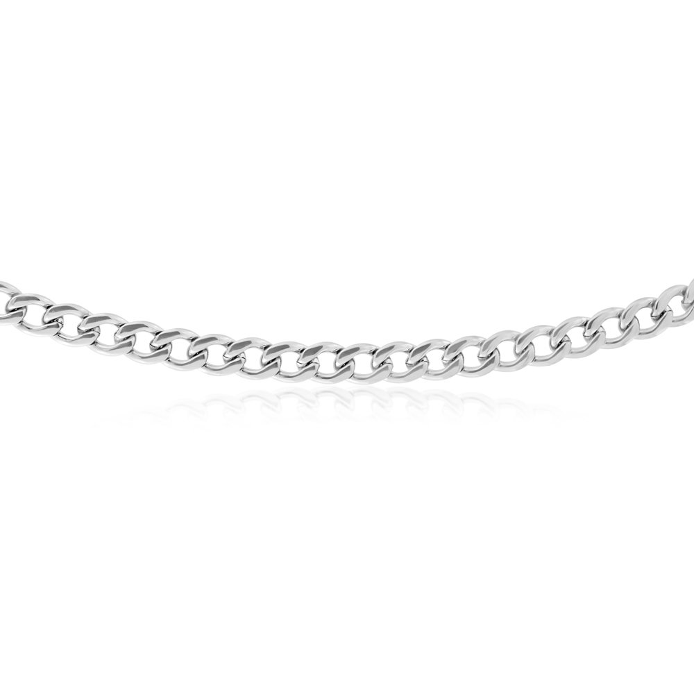 55cm Stainless Steel Curb Chain