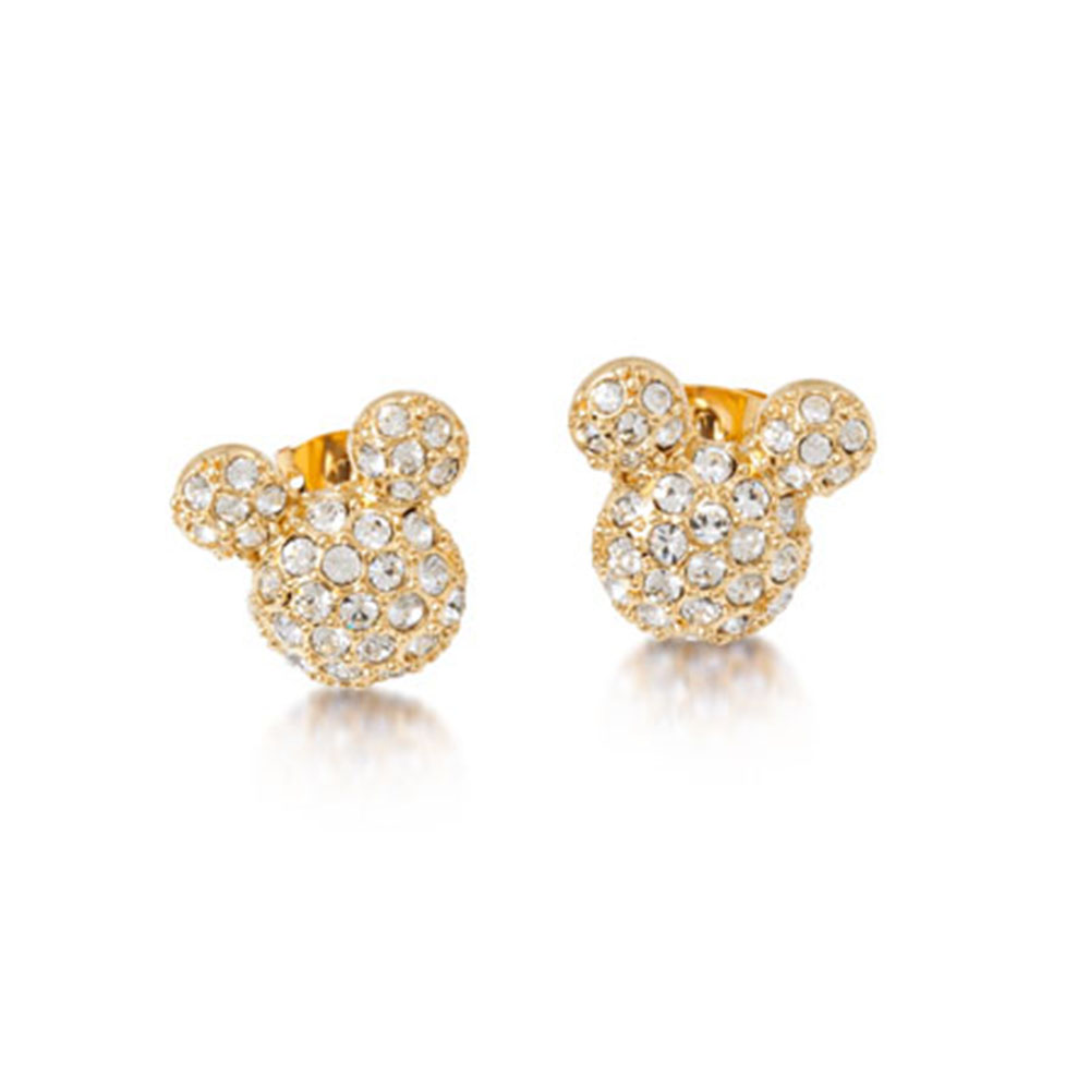 DISNEY Mickey Mouse Crystal Studs