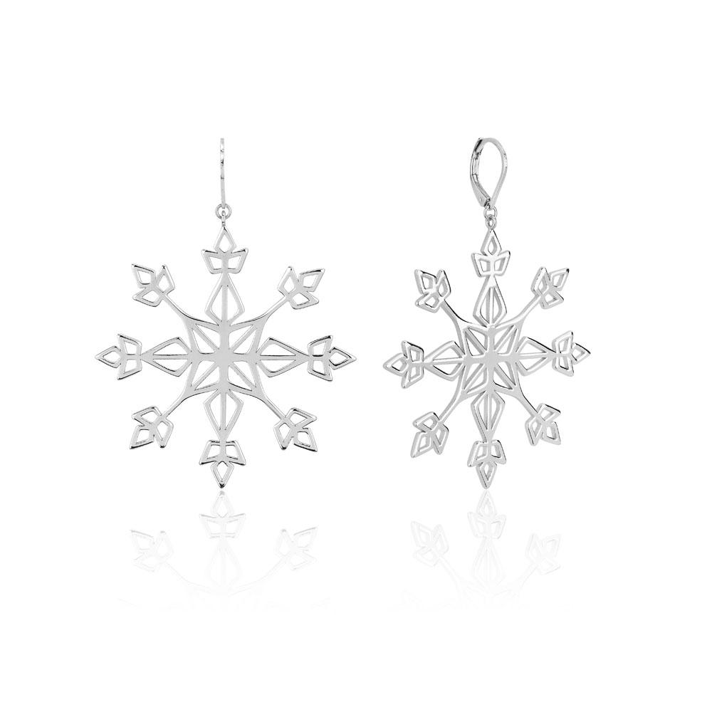DISNEY Frozen II Snowflake Earrings