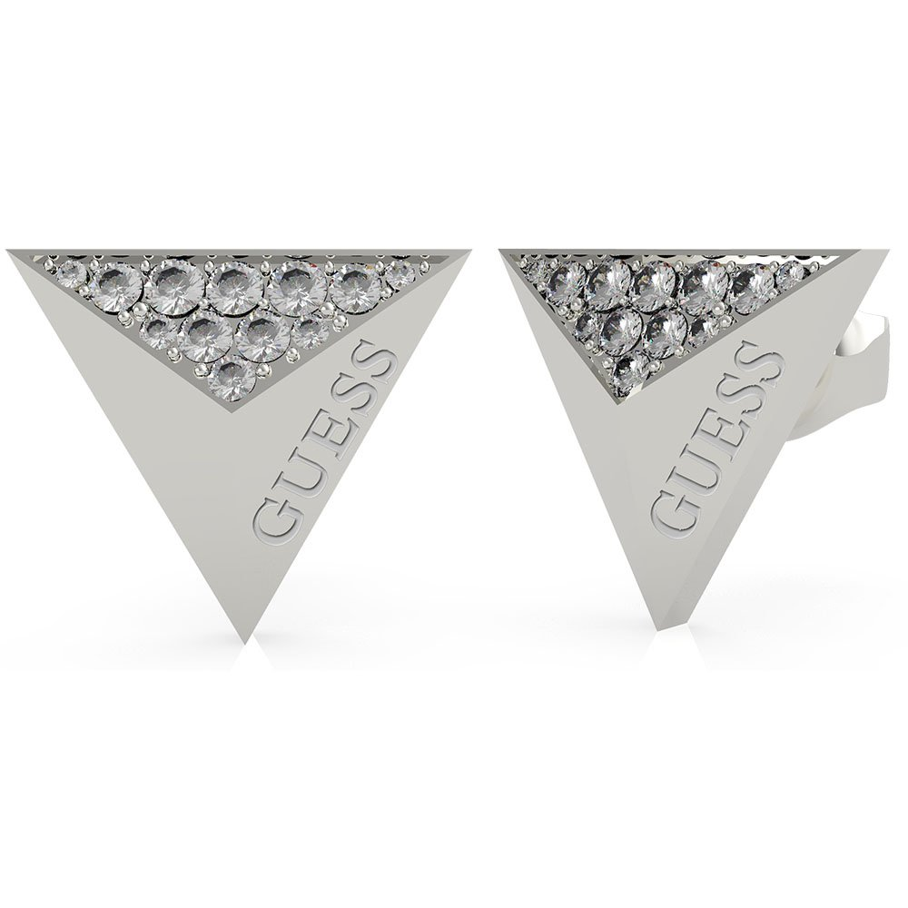 GUESS Stainless Steel 13mm Triangle Stud Earring