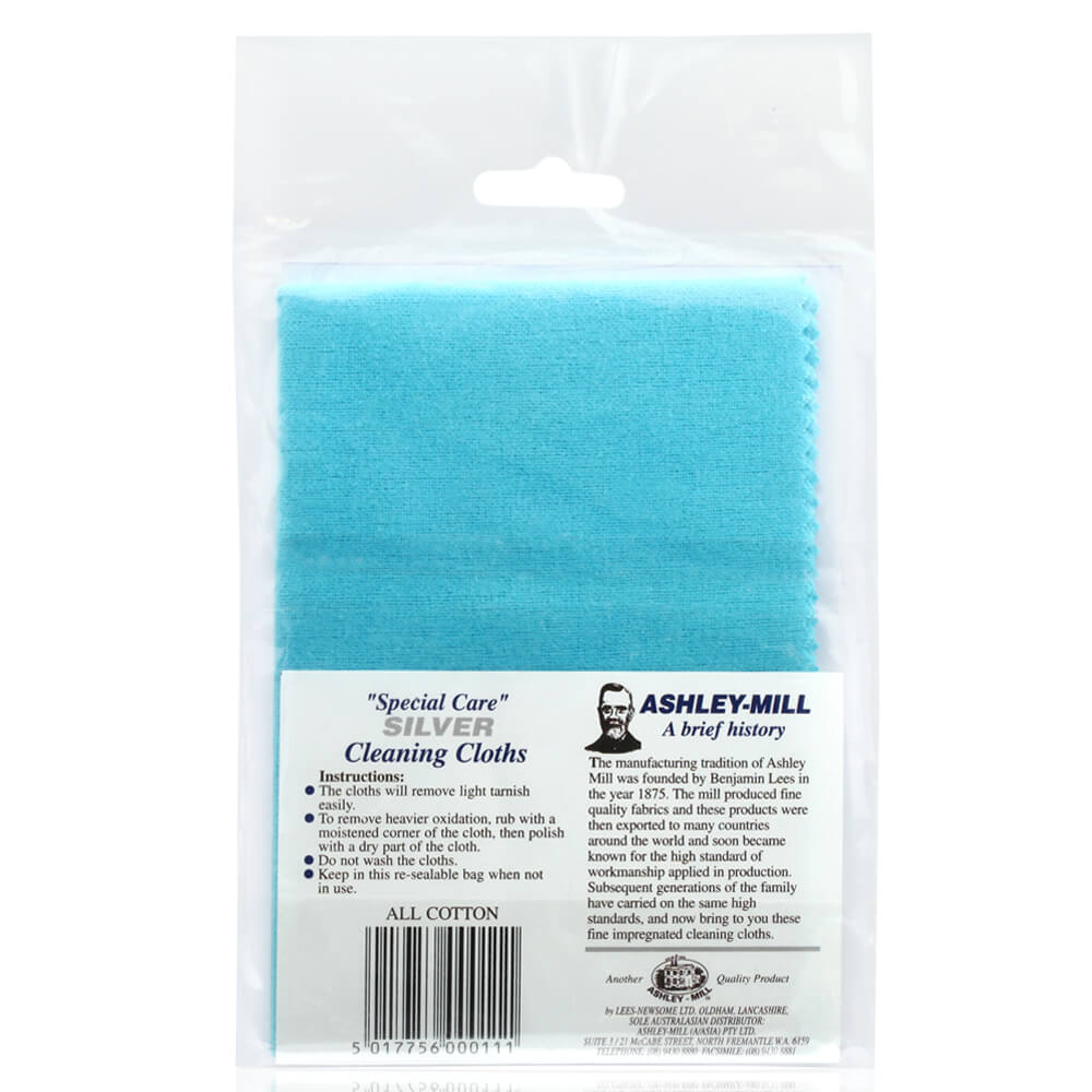 Ashley Mill Silver Jewellery Cleaning Cloth